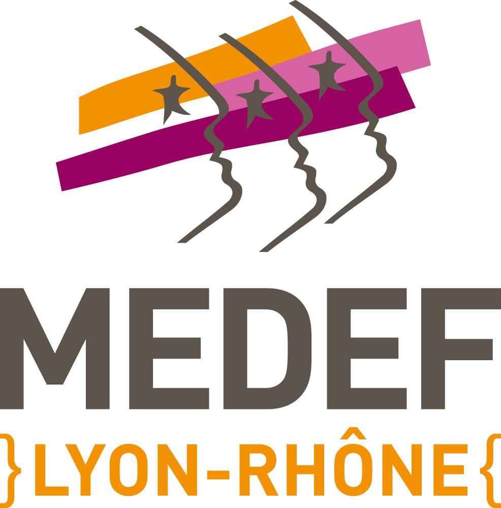 Logo Medef Lyon-Rhône