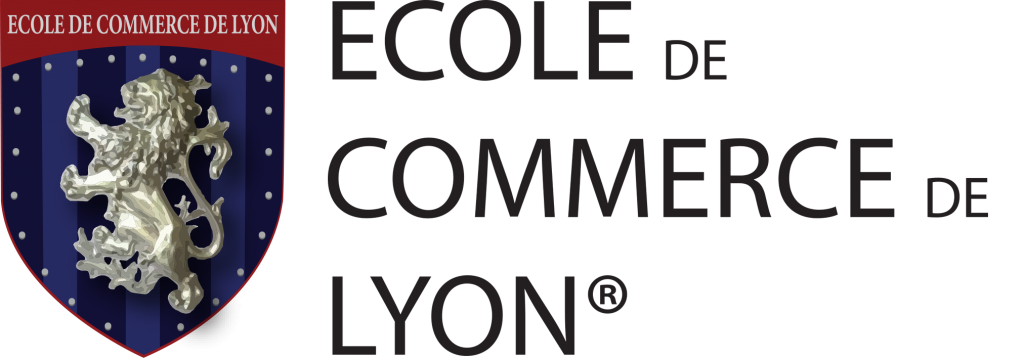 logo de l 39 ecole de commerce de lyon. Black Bedroom Furniture Sets. Home Design Ideas
