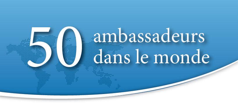 Image 50 ambassadeurs dans le monde