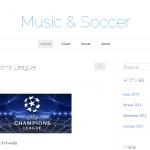 Music et soccer