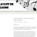 La playlist de guillaume
