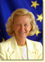 NICOLE FONTAINE - PRESIDENT OF EUROPEAN PARLIAMENT