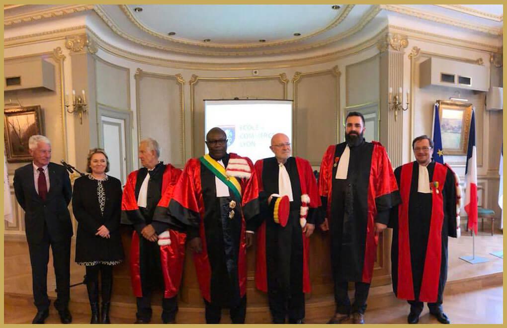 Doctor honoris causa ecole de commerce de lyon formations bachelor et mba lyon ecl - Chambre de commerce franco arabe ...