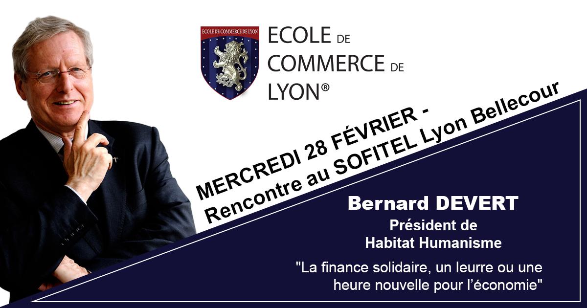 Rencontre avec Bernard DEVERT