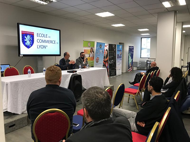 Conférence du 30-11-2017 Ecole de commerce de Lyon 2