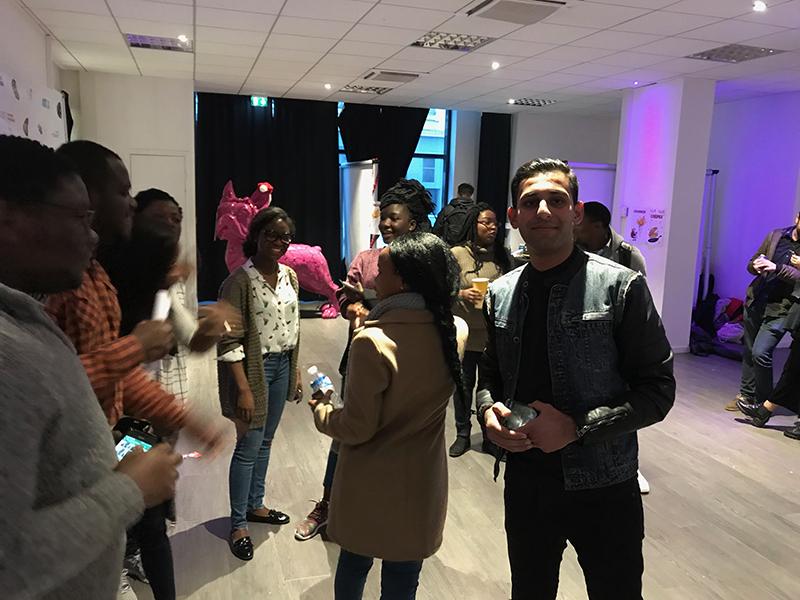 Noël 2017 avec étudiants Ecole de Commerce de Lyon 2