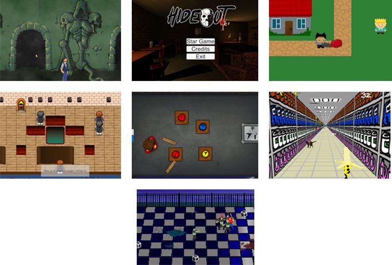 Projets de la Game Jam Game Dev Party – 13ème édition