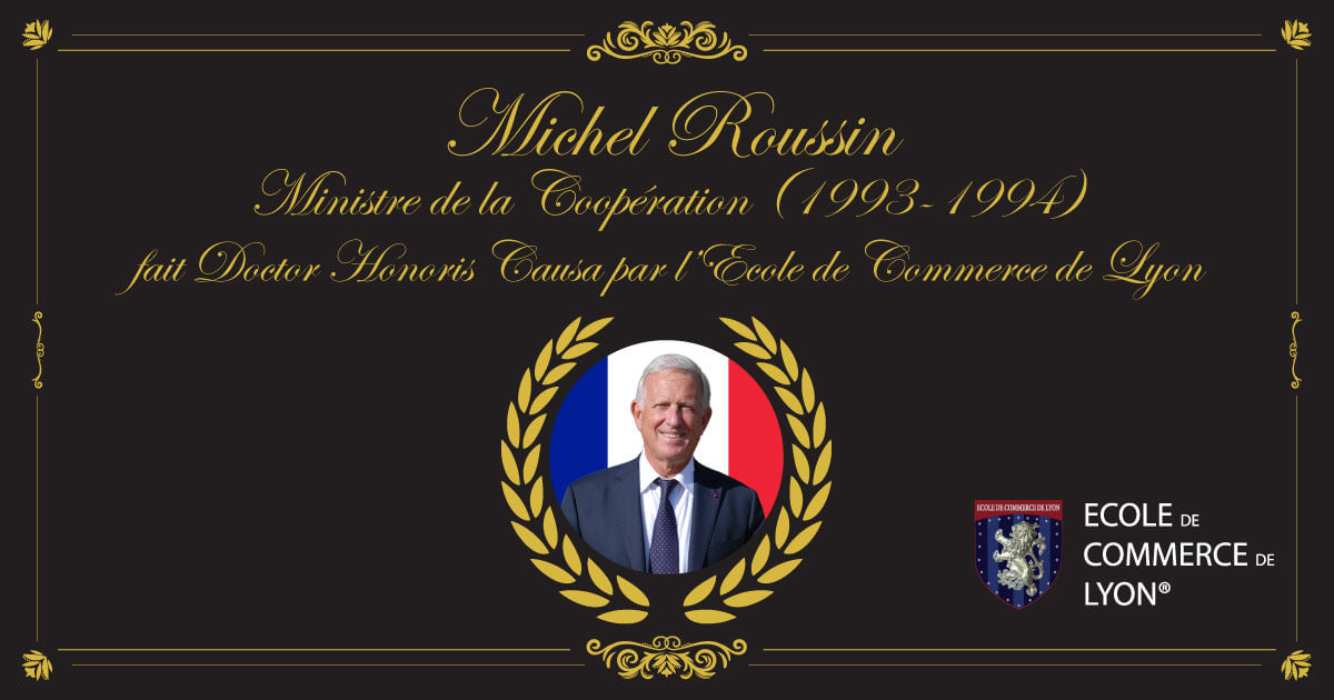 Michel Roussin fait Doctor Honoris Causa