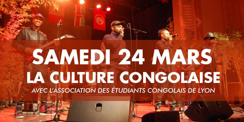 La culture congolaise samedi 24 mars