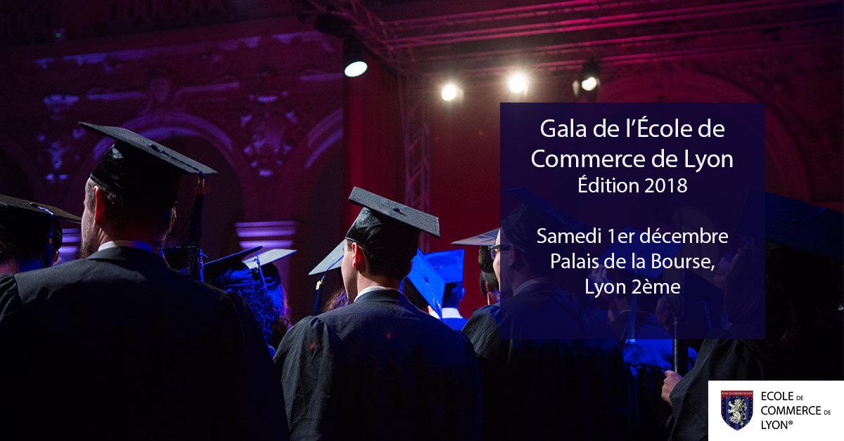 Gala de remise des diplômes de l'ECL