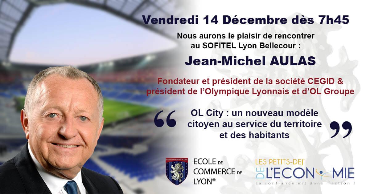 Jean Michel Aulas - Conférence du 14 décembre 2018