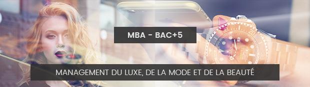 Ecole de commerce de lyon formation MBA luxe mode beauté